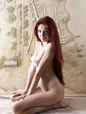 Showy Beauty  Red Fox  Skinny, Tits, Breasts, Big tits, Boobs, Red Heads, Striptease