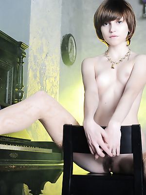 Amour Angels  Nelli  Solo, Older, Teens, Stockings, Lingerie, Softcore, Erotic, Beautiful